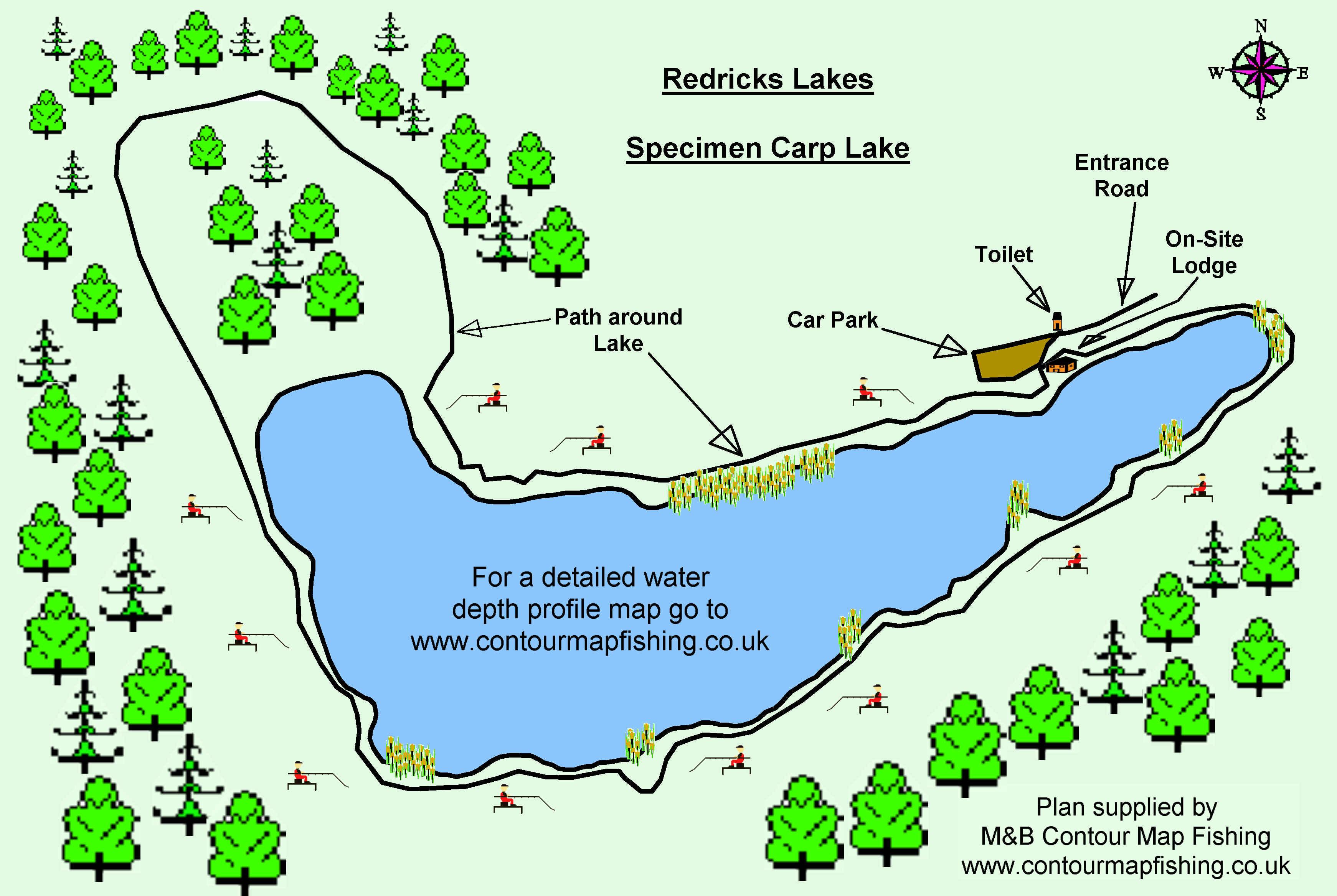 Awe Inspiring Redricks Specimen Carp Lake Largest Home Design Picture Inspirations Pitcheantrous